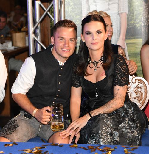 Denisé Kappes und Henning Merten