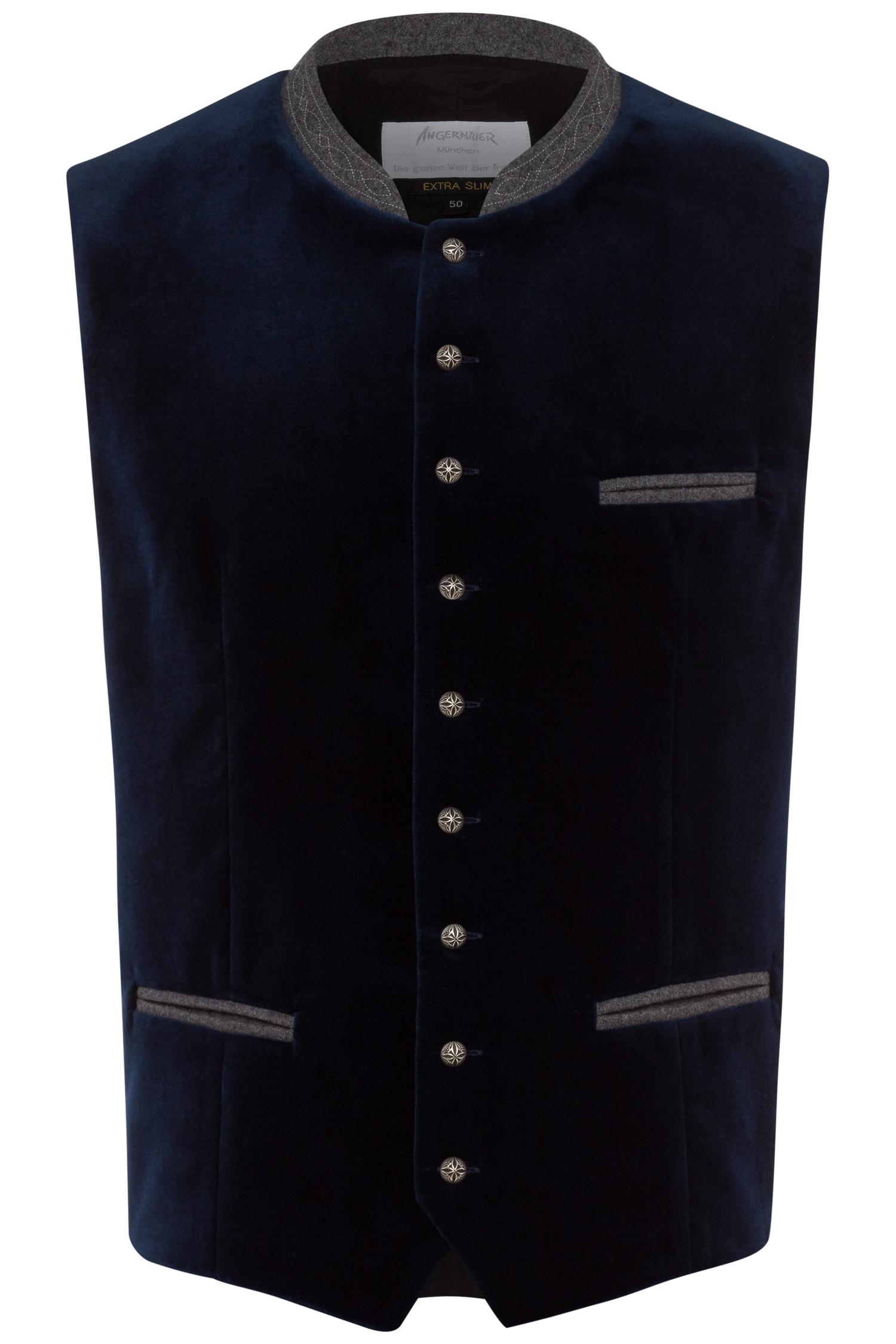 Trachtenweste Leon 44 | 40 blau