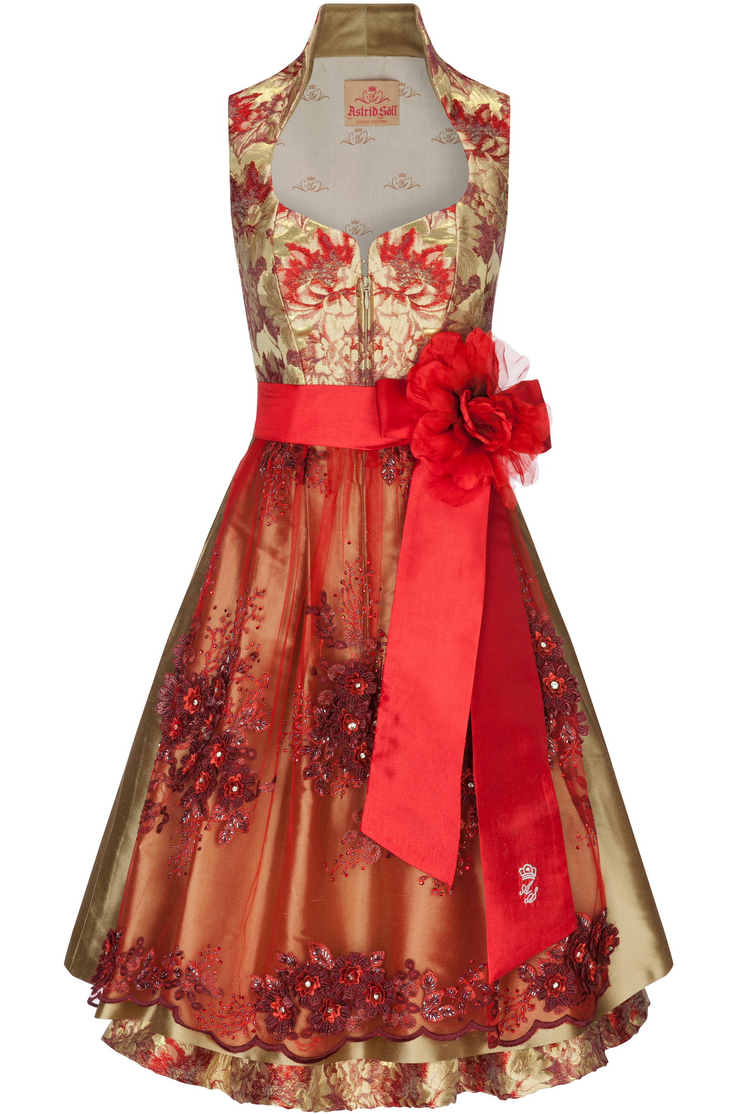 Dirndl Beloved 34 | rot