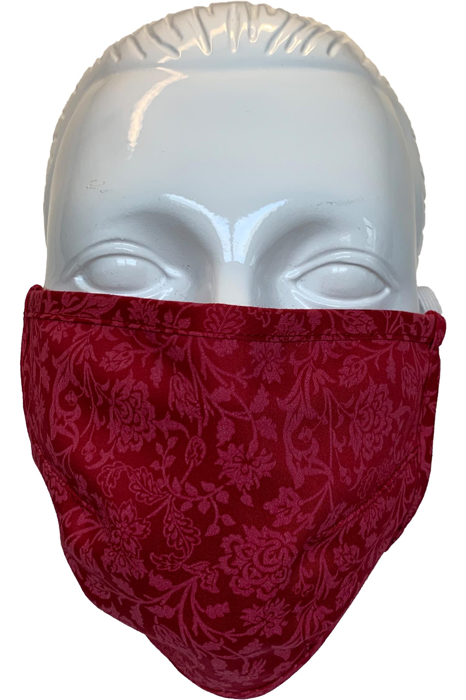 Gesichtsmaske Linda M | 29 kirschrot