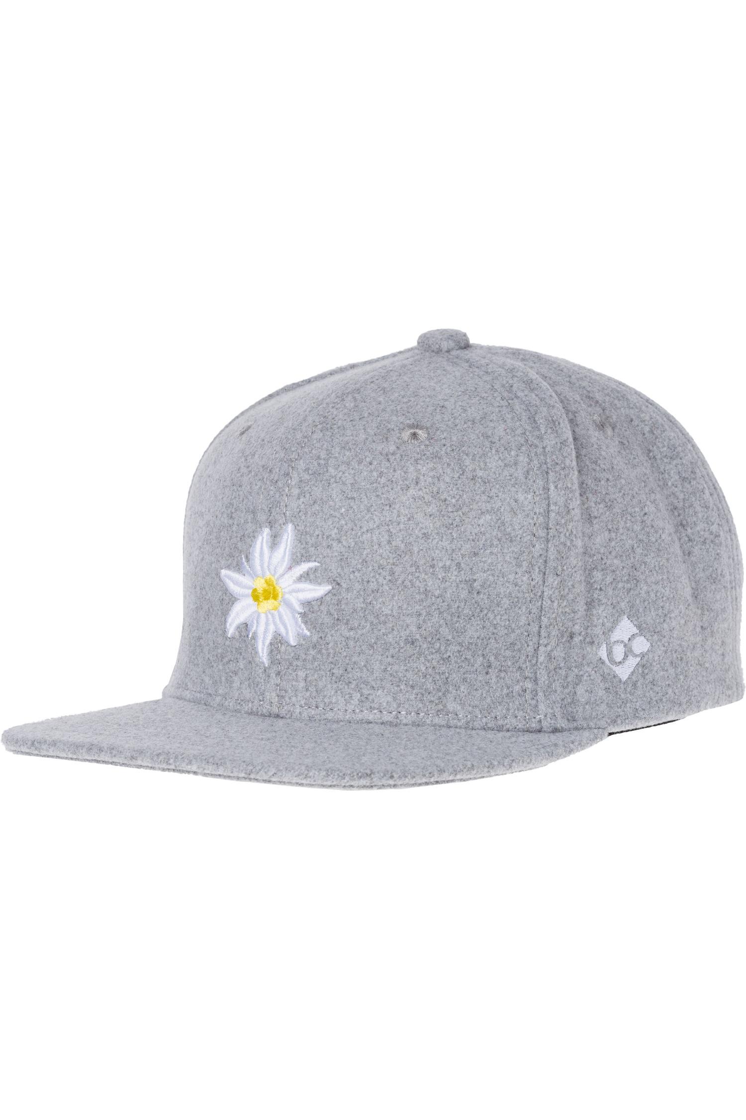 Edelweiss Bavarian Cap * | hellgrau