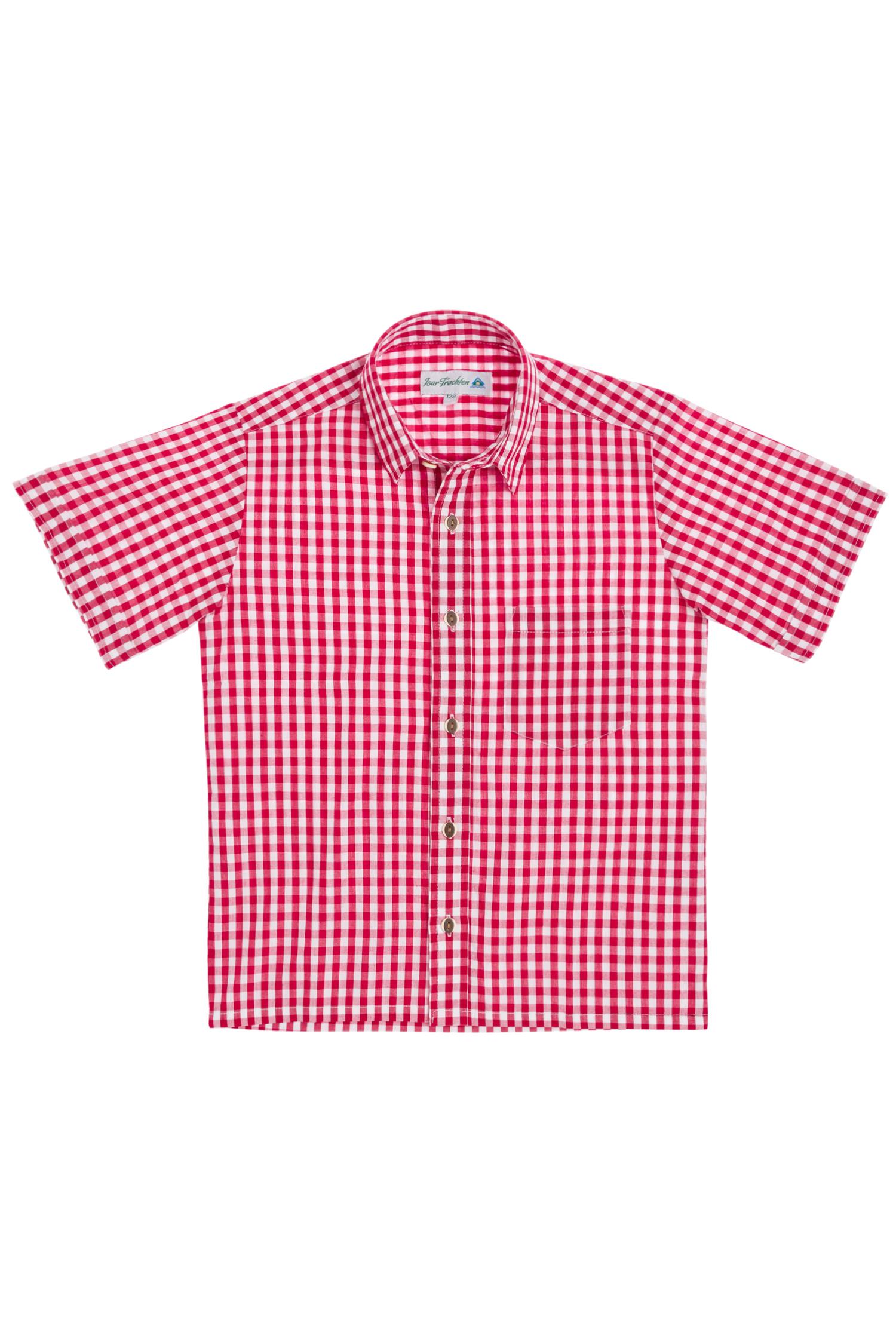 Kinderhemd kurzarm 74 | rot