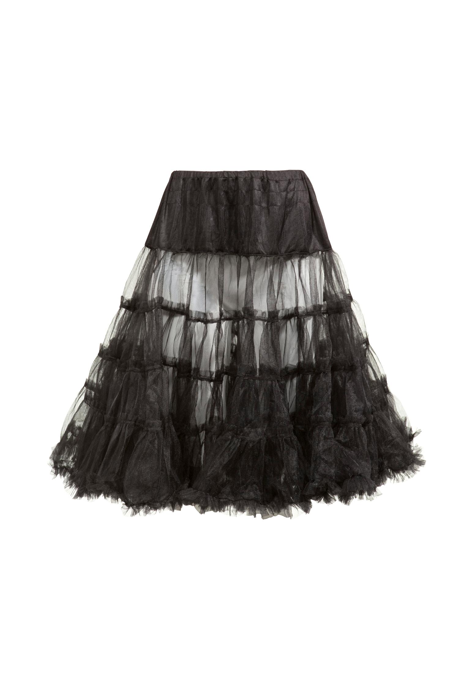 Petticoat 70cm *   schwarz