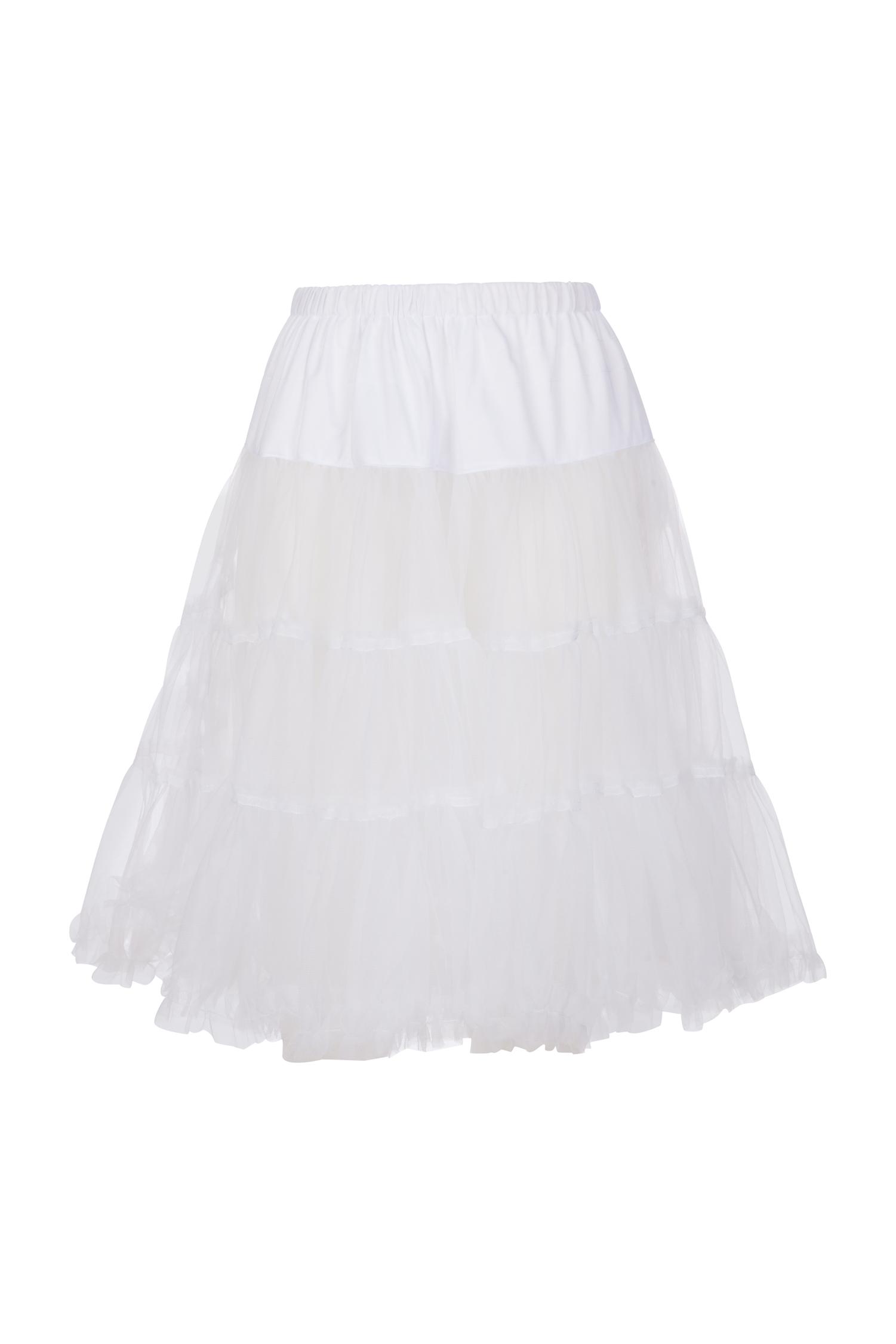 Petticoat 60cm * | weiß