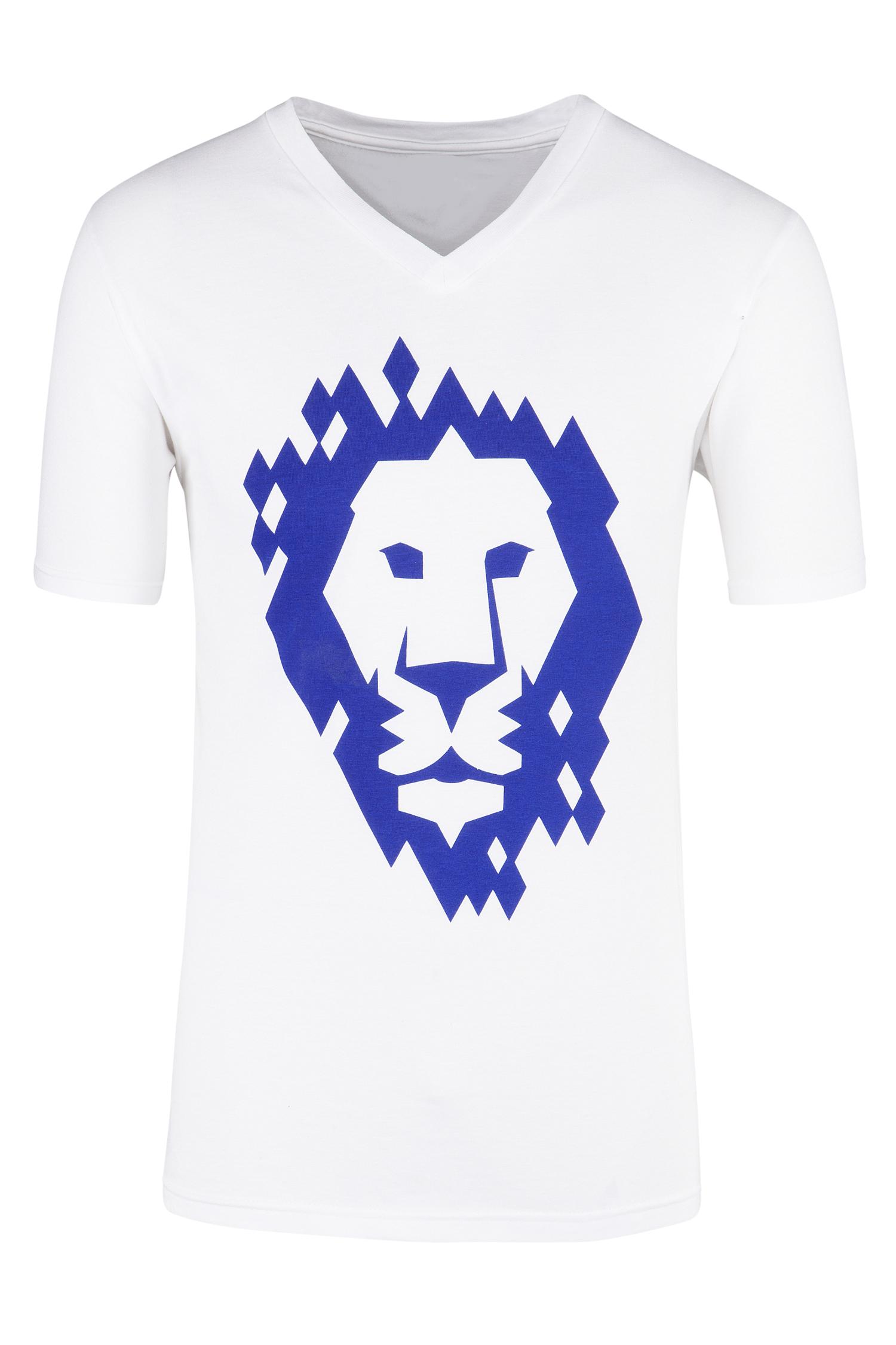 Herren T-Shirt S | weiß
