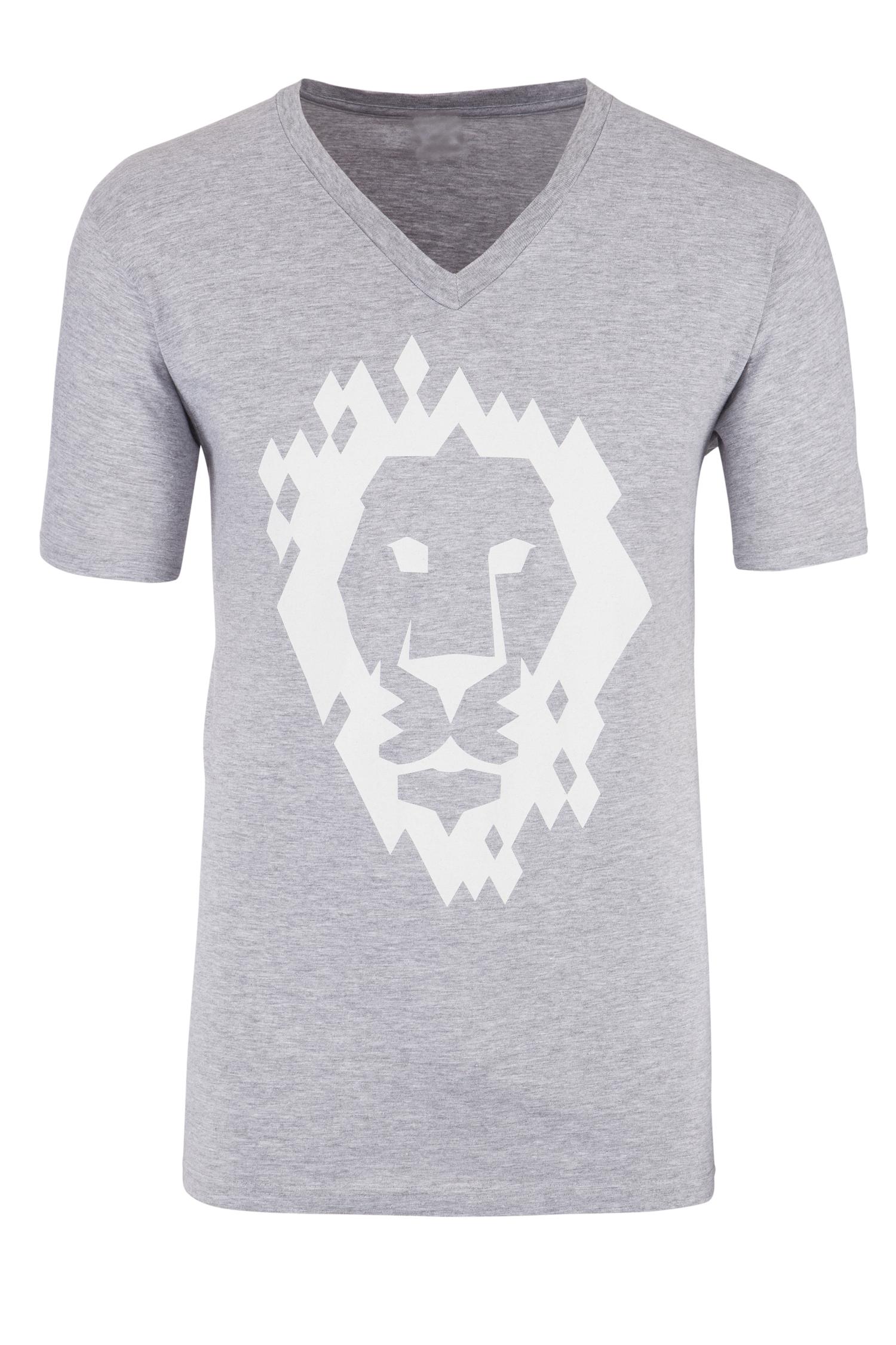 Herren T-Shirt XL | grau