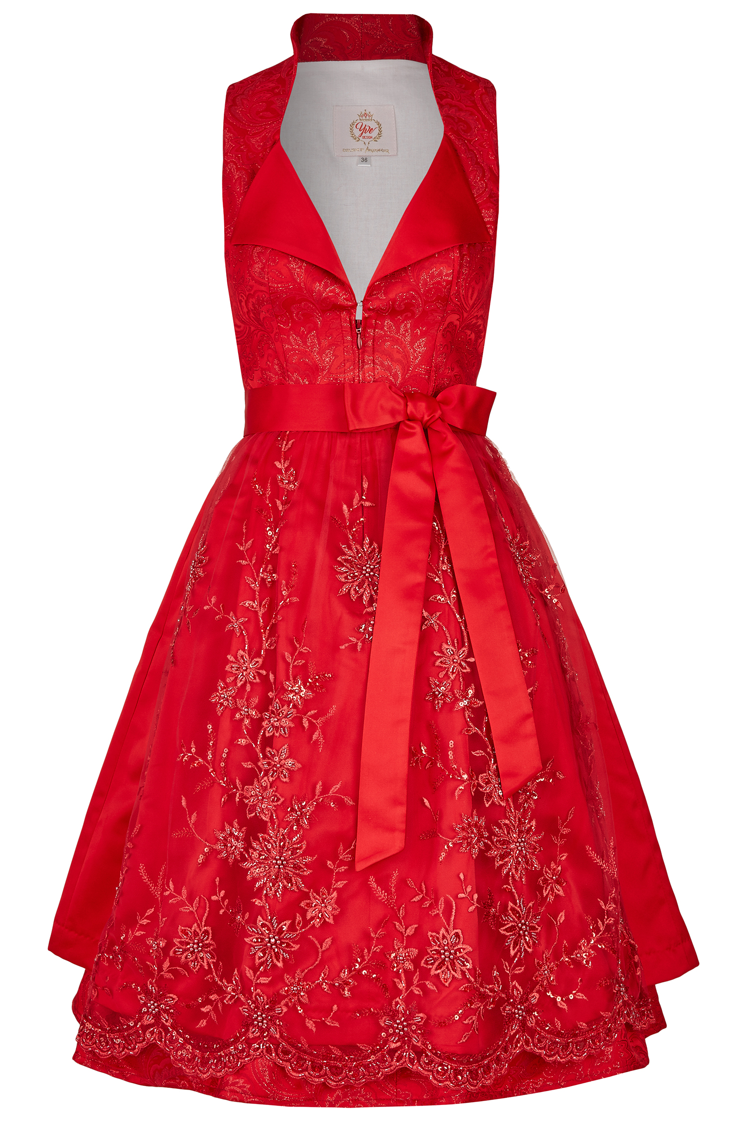 Dirndl Emotion 40 | 25 rot