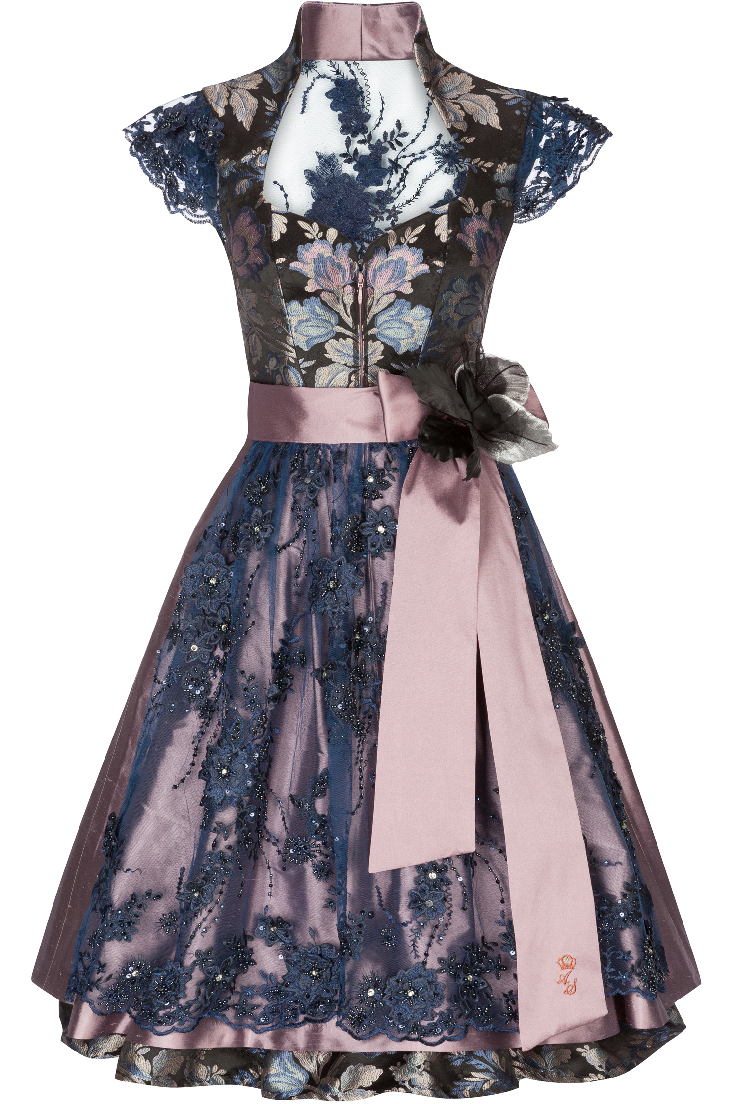 Dirndl Autumn love 38 | mauve
