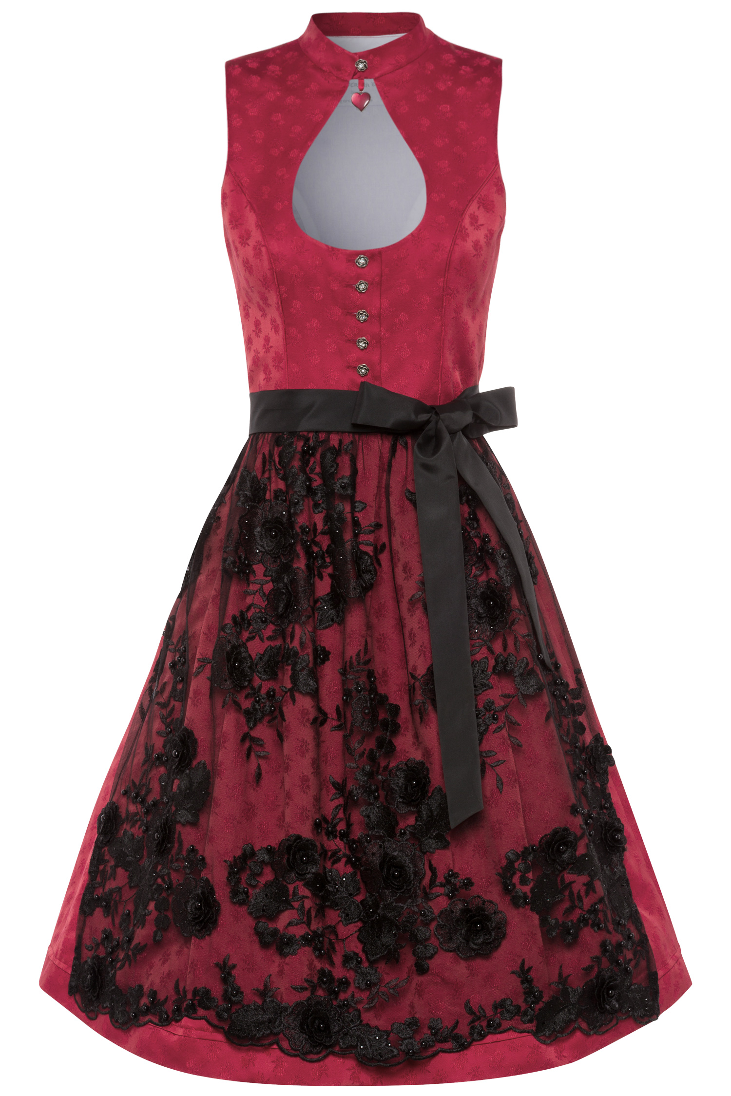 Dirndl Red Heart 32 | 25 rot