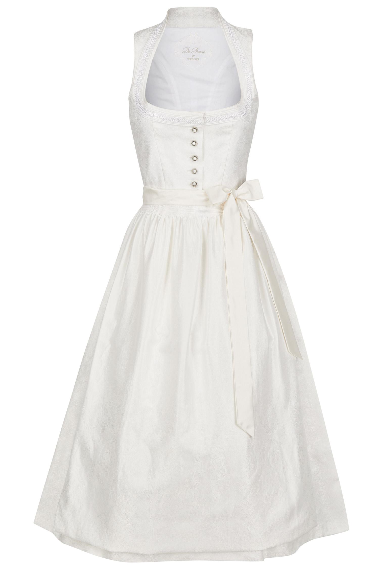 Brautdirndl Barbara 46 | 0 weiß