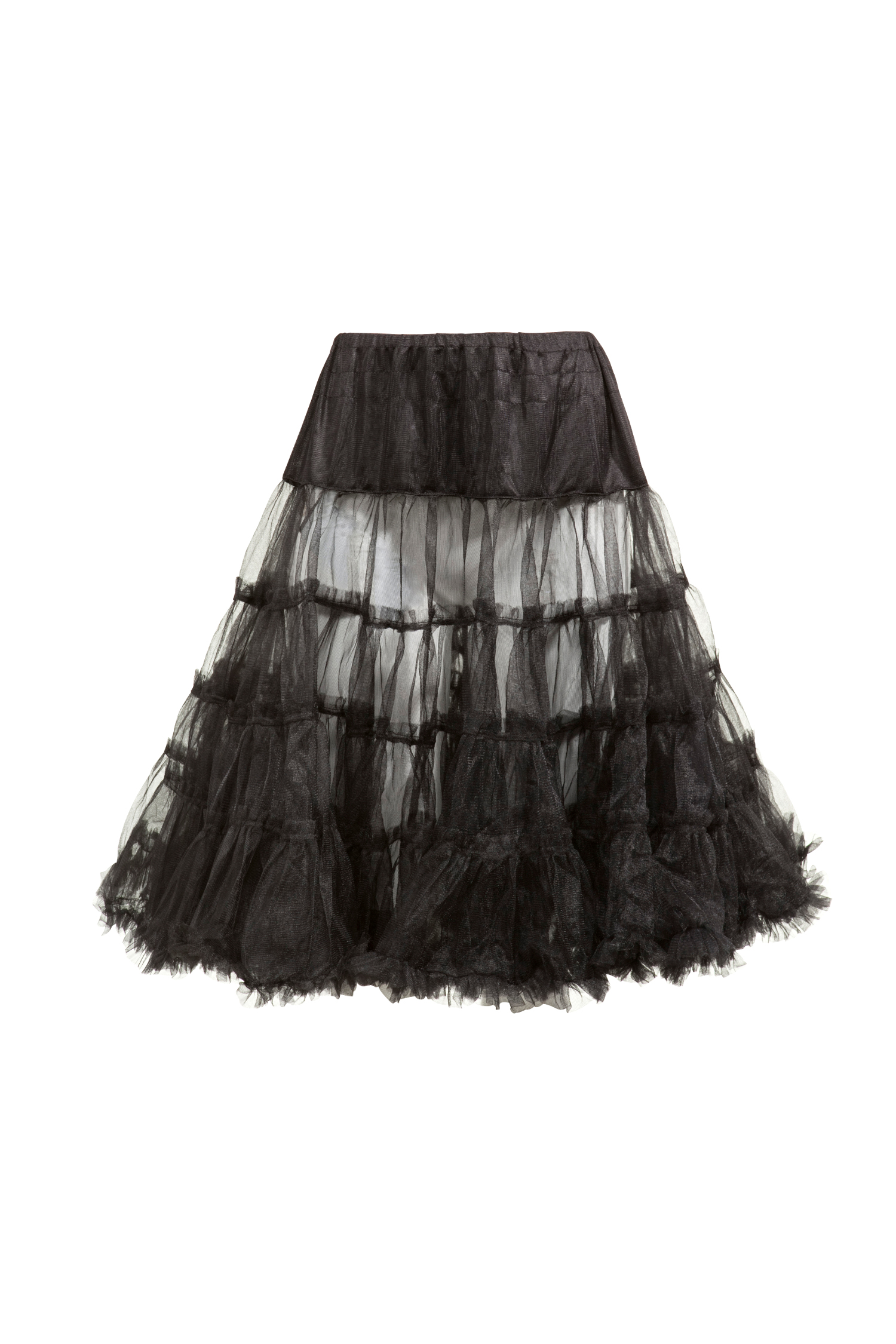 Petticoat 60cm * | schwarz