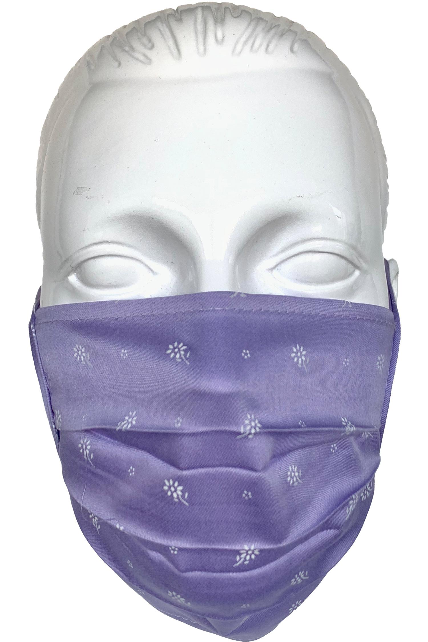 Trachten-Maske flieder * | Flieder