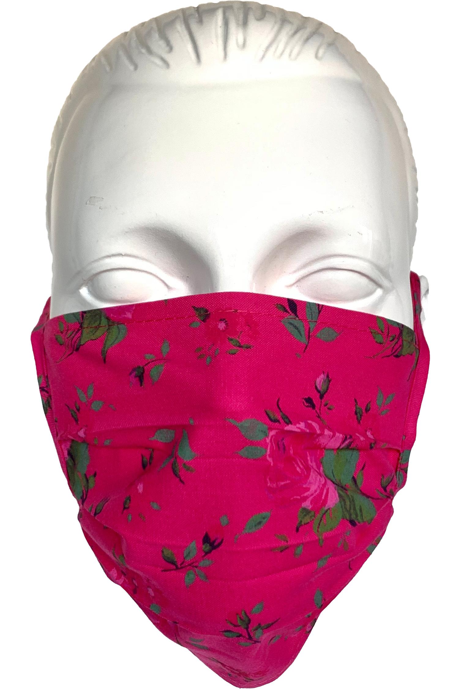 Trachten-Maske pink * | pink