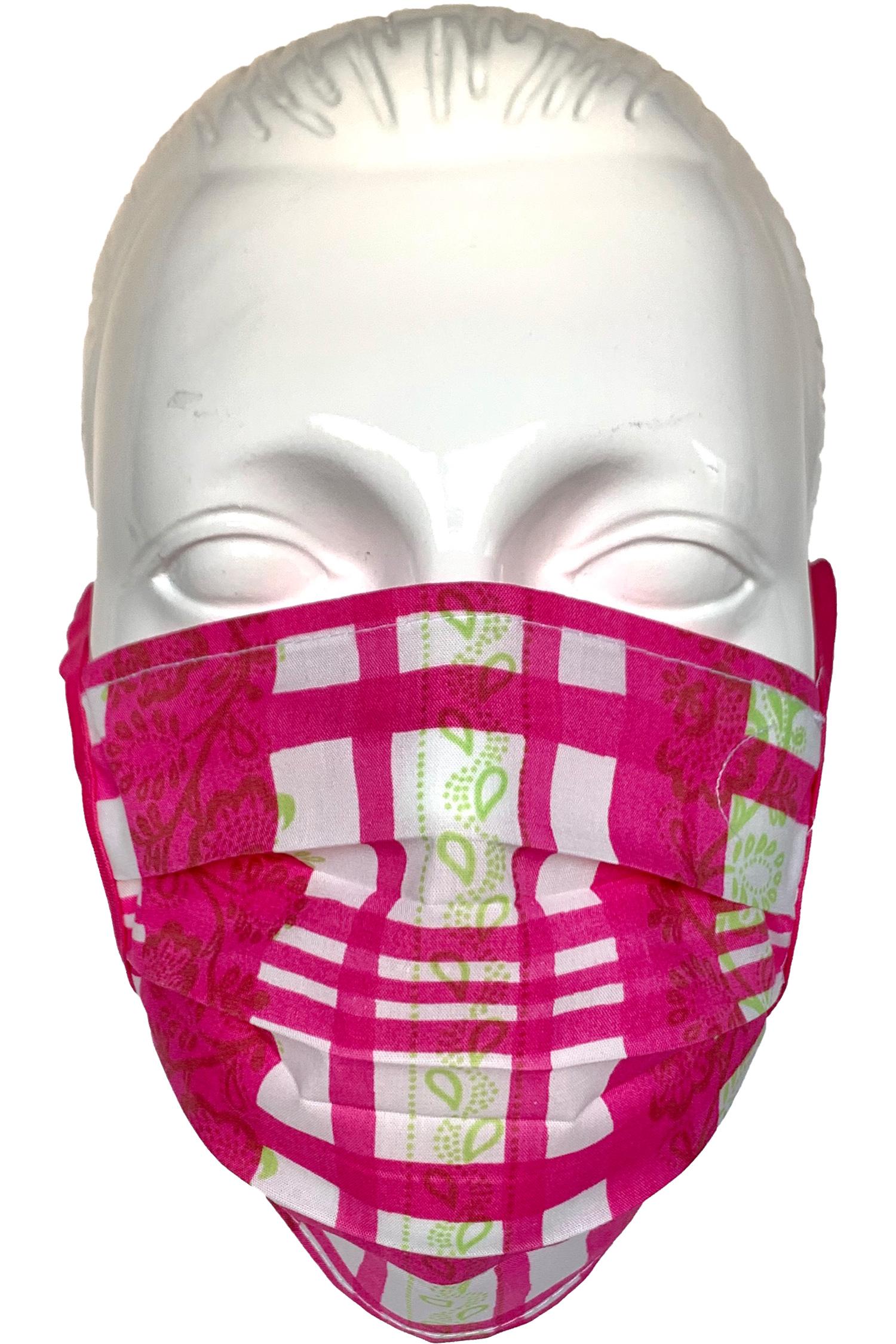 Trachten-Maske gestreift * | gestreift