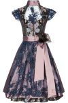 Dirndl Autumn love - mauve