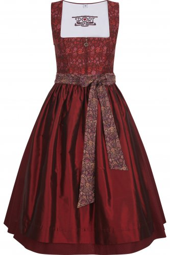 Dirndl Haimburg 48 | 49 bordeaux