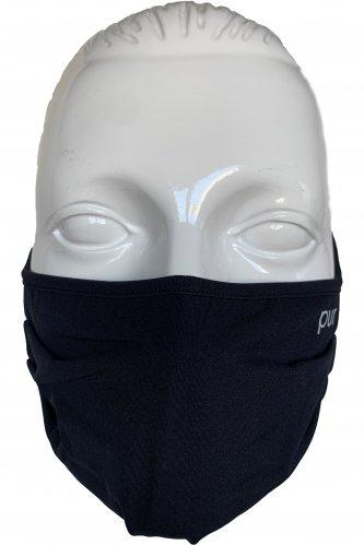 Atmungsaktive Gesichtsmaske II | 002 schwarz