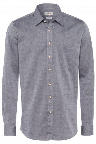 Trachtenhemd Slim-Fit S | 3041