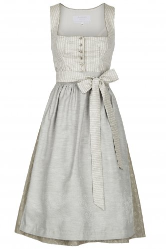 Dirndl Betty 32 | 1980 graublau-taupe