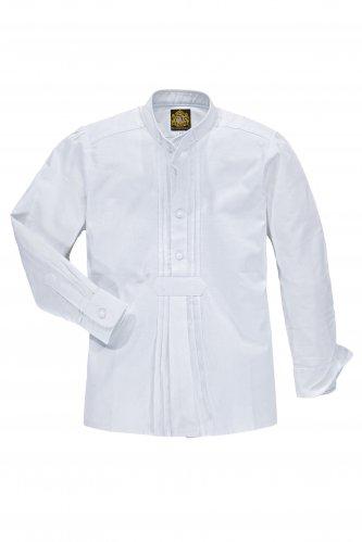 Kinderhemd Stehkragen 86 | weiß