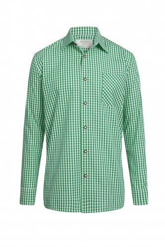 Tailliertes Trachtenhemd Kevin 40 | 69 tanne