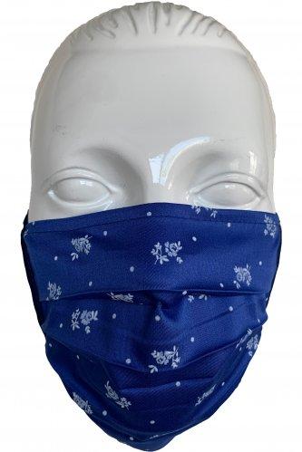 Gesichtsmaske royal * | royal-blau