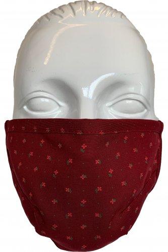 Gesichtsmaske Juliane L | 29 d. rot