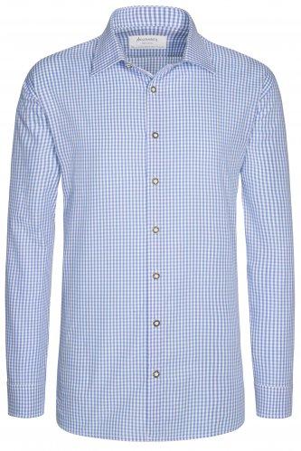 Trachtenhemd Konstantin 43 | 85 hellblau