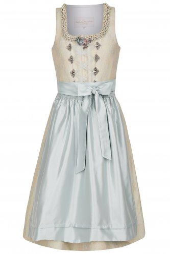 Kinderdirndl Unicorn 104 | taupe
