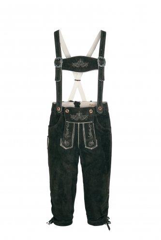 Lederhose Paul 48 | schwarz