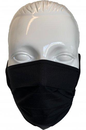 Gesichtsmaske schwarz * | schwarz