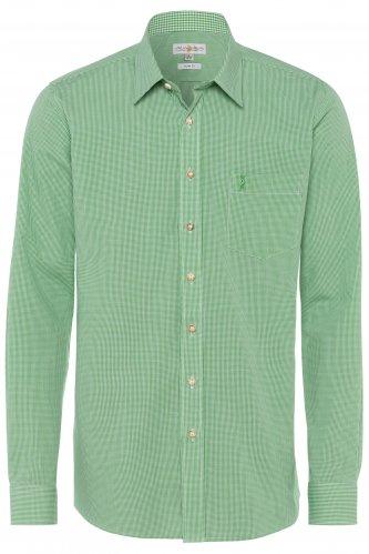 Trachtenhemd Karo S | apfel