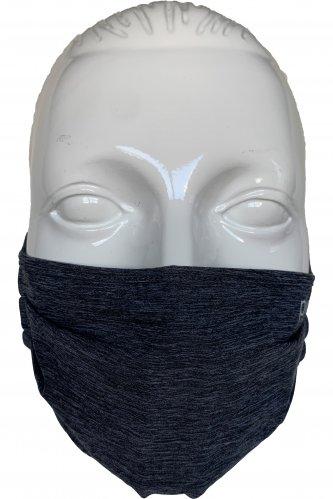 Atmungsaktive Gesichtsmaske * | 740 uni anthrazit