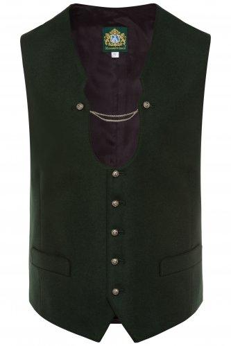 Trachtenweste Paul 48 | grün/grün