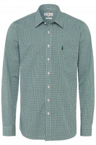Trachtenhemd Karo XL | tanne