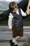 Kindertrachtenweste Enzian 4